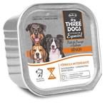 Ração úmida Three Dogs Super Premium Patê Frango para Cães Sênior 7+