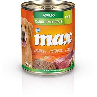 Ração Úmida Total Max Patê Sabor Carne e Vegetais para Cães Adultos
