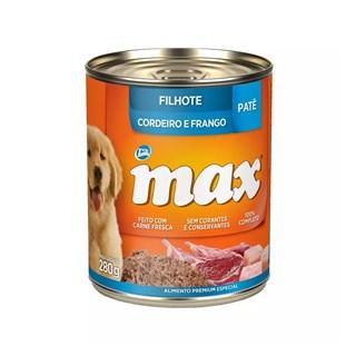 Ração Úmida Total Max Patê Sabor Cordeiro e Frango para Cães Filhotes