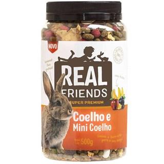 Ração Zootekna Super Premium Real Friends com Frutas Friends para Coelhos
