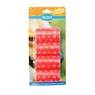 Refil Chalesco Sacolas Biodegradáveis para Kit Higiênico - Cores Variadas