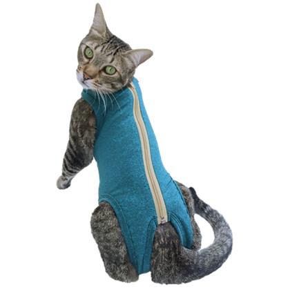 Roupa Pós Cirúrgica Pet Med Dry Para Gatos