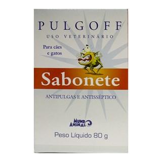 Sabonete Antipulgas Mundo Animal Pulgoff para Cães