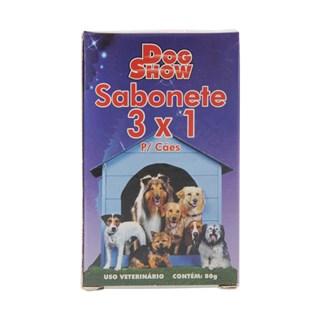 SABONETE DOG SHOW 3X1 PARA CãES