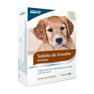 Sabonete Provets Simões Sabão de Enxofre para Cães