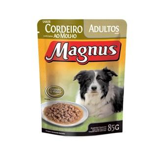 Sachê Magnus Premium Cordeiro Ao Molho Para Cães Adultos
