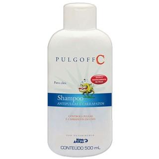 Shampoo Antipulgas e Carrapatos Mundo Animal Pulgoff c Para Cães