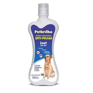 Shampoo Condicionador Antipulgas Petbrilho 3 Em 1 Para Cães