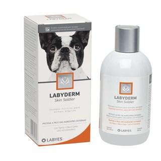 Shampoo Dermatológico Labyes Labyderm Skin Soldier Para Cães e Gatos