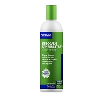 Shampoo Dermatológico Virbac Sebocalm Spherulites Para Cães e Gatos