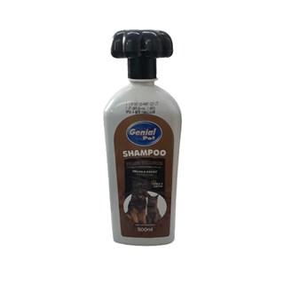 Shampoo Genial Pet Para Cães e Gatos com Pelos Escuros