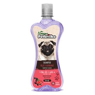 Shampoo Natureza Petbrilho Açaí e Guaraná Para Cães e Gatos