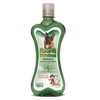 Shampoo Natureza Petbrilho Erva De Santa Maria Para Cães e Gatos