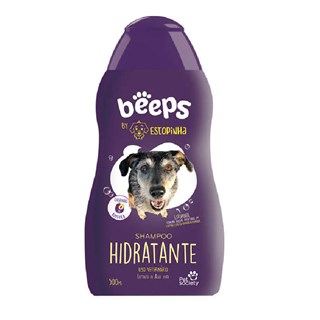 Shampoo Pet Society Beeps Estopinha Hidratante para Cães e Gatos