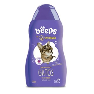 Shampoo Pet Society Beeps Estopinha para Gatos