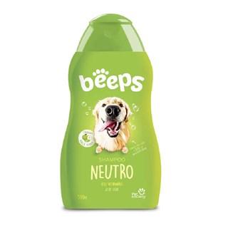 Shampoo Pet Society Beeps Neutro para Cães e Gatos