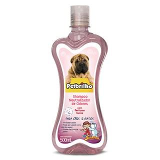 Shampoo Petbrilho Neutralizador De Odores Para Cães e Gatos