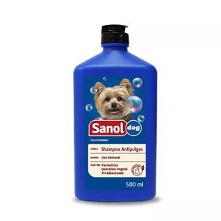 Shampoo Sanol Dog Antipulgas Para Cães