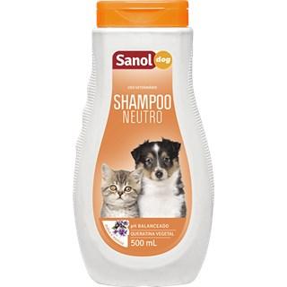 Shampoo Sanol Dog Neutro Para Cães e Gatos