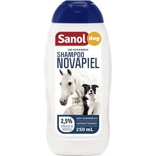 Shampoo Sanol Dog Novapiel Para Cães. Gatos e Cavalos - 500 Ml