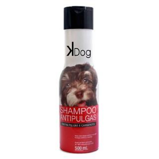 Shampoo Sanol Kdog Antipulgas Para Cães e Gatos