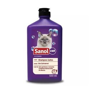 Shampoo Sanol Vet Para Gatos