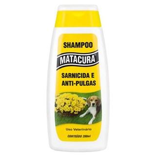 Shampoo Sarnicida e Antipulgas Aic Matacura Para Cães