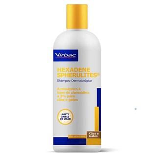 Shampoo Virbac Hexadene Spherulites Para Cães e Gatos