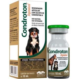Solução Injetável Vetnil Condroton Para Equinos. Ovinos. Caprinos. Bubalinos. Avestruzes e Suínos