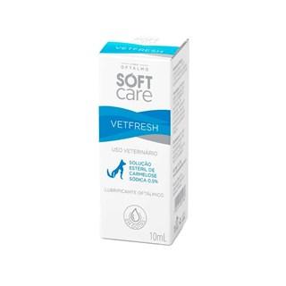 Solução Oftalmológica Pet Society Soft Care Vetfresh para Cães e Gatos