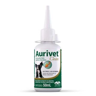 Solução Otológica Vetnil Aurivet Clean Para Cães e Gatos