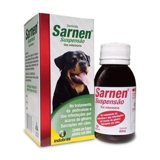 Solução Sarnicida Indubras Sarnen Suspensão Para Cães