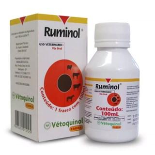 Solução Vétoquinol Fagra Ruminol Para Ovinos. Equinos e Bovinos