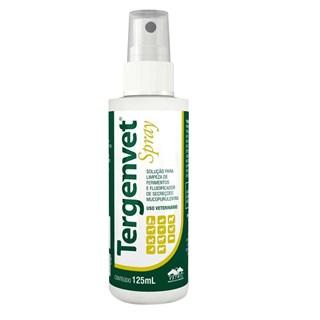 Spray Para Limpeza De Ferimentos Vetnil Tergenvet Para Cães. Gatos. Equinos. Bovinos. Caprinos. Ovinos. Suínos e Aves