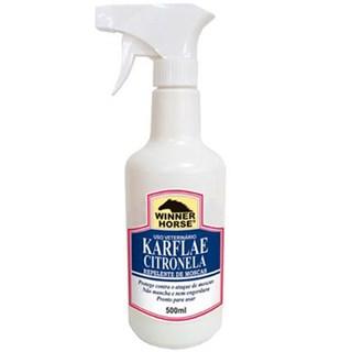 Spray Repelente De Moscas Winner Horse Karflae Citronela Para Cães. Equinos e Bovinos