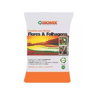 Substrato Biomix Flores e Folhagens para Jardins