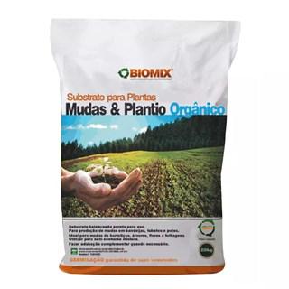 Substrato Biomix para Mudas e Plantios Orgânicos