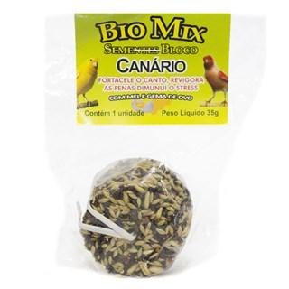 Suplemento Alimentar Biomix Semente Bloco Para Canários