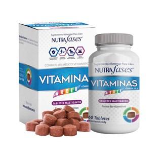 Suplemento Alimentar NUTRAfases Vitaminas para Cães
