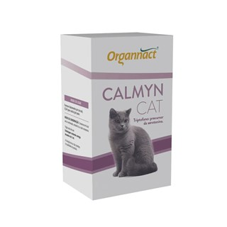 Suplemento Alimentar Organnact Calmyn Cat - 30 mL
