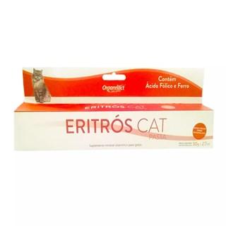Suplemento Alimentar Organnact Eritrós Cat Pasta Para Gatos