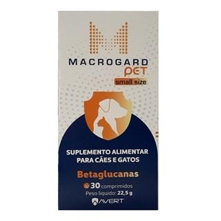 Suplemento Avert Macrogard Pet Small Size para Cães e Gatos