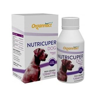 Suplemento Hipercalórico Organnact Nutricuper Dog Para Cães