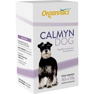 Suplemento Alimentar Organnact Calmyn Dog Para Cães