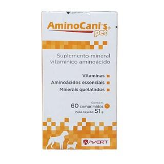 Suplemento Suplemento Vitamínico Avert Amino Canis Para Cães