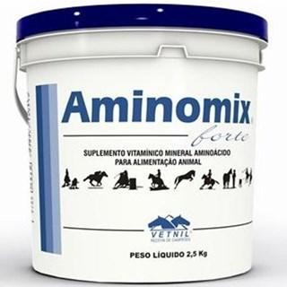 Suplemento Vetnil Aminomix Forte Para Equinos. Muares. Asininos. Avestruzes e Suínos