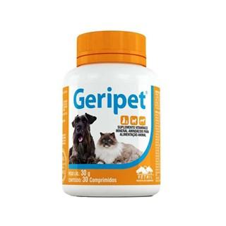 Suplemento Vetnil Geripet para Cães e Gatos Idosos