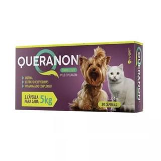 Suplemento Vitaminico Avert Queranon Pele e Pelagem Para Cães e Gatos