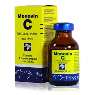 Suplemento Vitamínico Bravet Monovin C para Cães. Potros. Bezerros. Caprinos. Suínos. Bovinos e Equinos