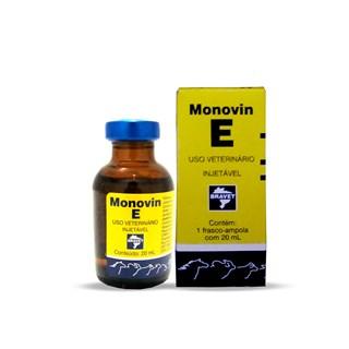 Suplemento Vitamínico Bravet Monovin E para Cães. Suínos. Bovinos. Equinos e Muares